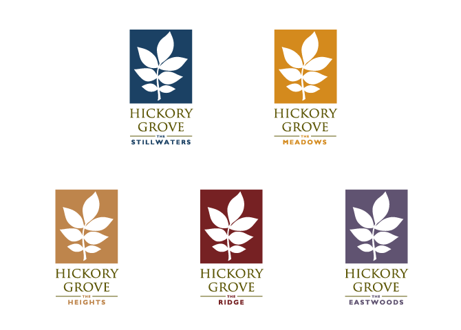 Hickory Grove Secondary Logos