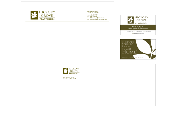 Hickory Grove Stationery