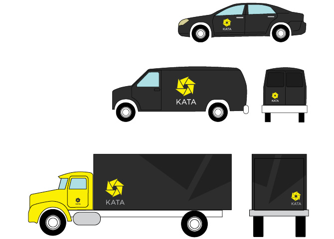 KATA Car, Van, and Truck Wraps